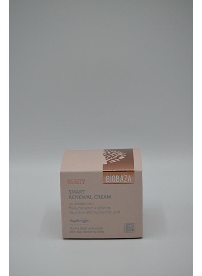 BIOBAZA BEAUTY Slimme vernieuwingscrème, 50 ml