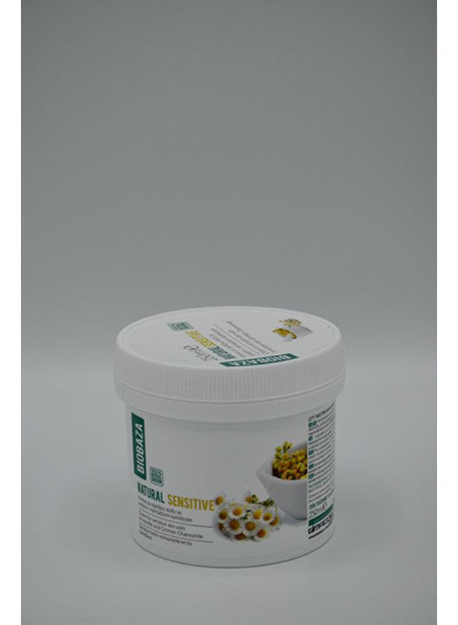 Sensitive skin cream with immortelle & German chamomile, 250 ml