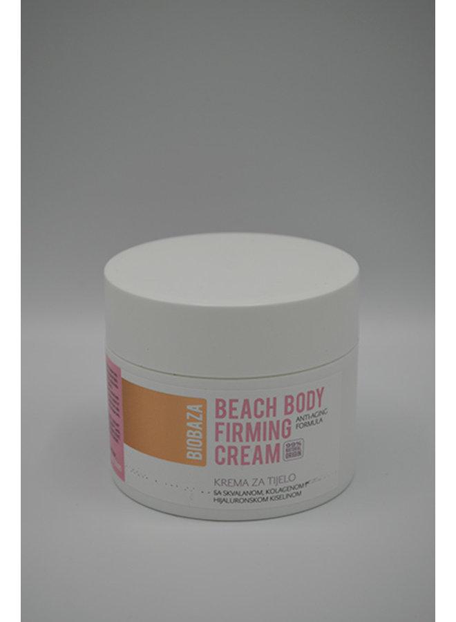 Beach body firming cream 99% natural origin 250ml