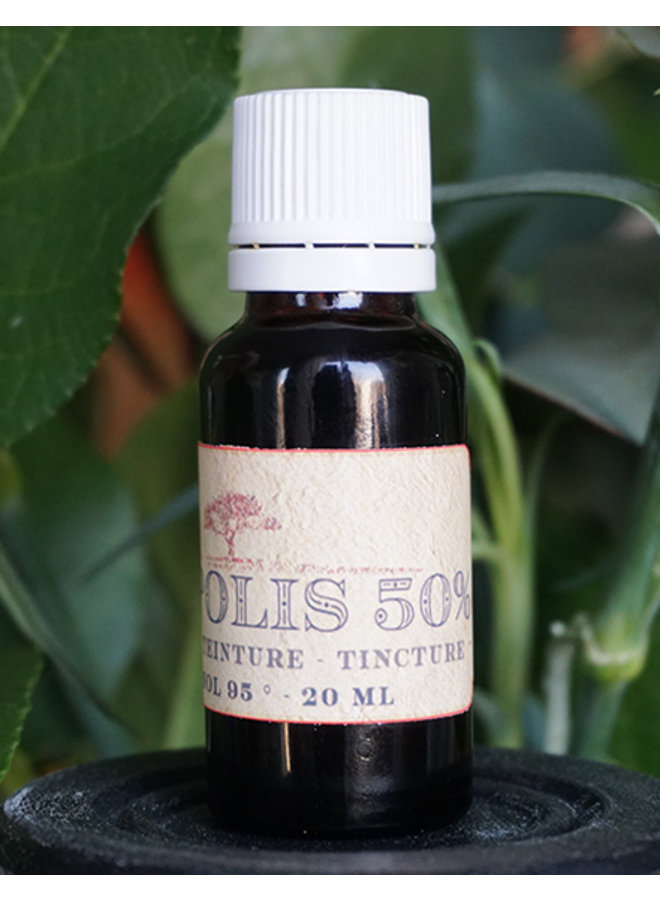 Organic propolis tincture for when a radical cure is needed, 20 ml