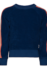 AO76 AO76 C-NECK SWEATER EPONGE  BLUE