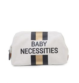 childhome CHILDHOME BABY NECESSITIES CANVAS OFF WHITE STRIPES