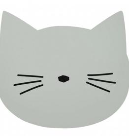 Liewood LIEWOOD AURA PLACEMAT CAT DUSTY MINT