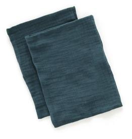 Mundo melocoton Mundo melocoton wash cloth teal set of 2