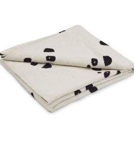 Liewood LIEWOOD LEIF BABY BLANKET PANDA BEIGE BEAUTY