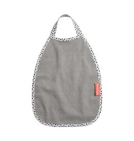 Done by deer DONE BY DEER PULLOVER TERRY BIB HAPPY DOTS GREY