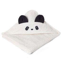 Liewood AGUSTA HOODED TOWEL PANDA CREME