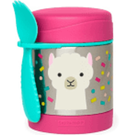 SKIP HOP ZOO INSULATED FOOD JAR LAMA