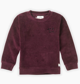 Sproet & Sprout SPROET & SPROUT SWEATSHIRT VELVER DON'T CARE