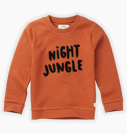 Sproet & Sprout SPROET & SPROUT SWEATSHIRT NIGHT JUNGLE