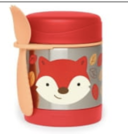 SKIP HOP SKIP HOP ZOO INSULATED FOOD JAR FOX