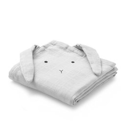 Liewood LIEWOOD HANNAH MUSLIN CLOTH RABBIT DUMBO GREY