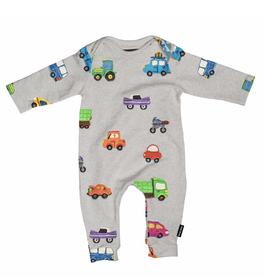 Snurk SNURK CARS JUMPSUIT BABY'S