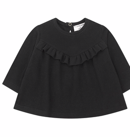 1+in the family 1+IN THE FAMILY ALCUDIA BLOUSE BLACK