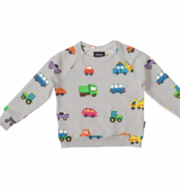 Snurk SNURK CLAY CARS SWEATER
