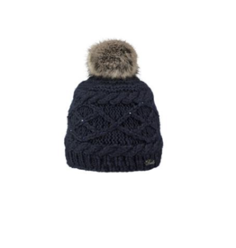 Barts BARTS CLAIRE BEANIE NAVY