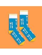 Banana Socks Knife and Fork