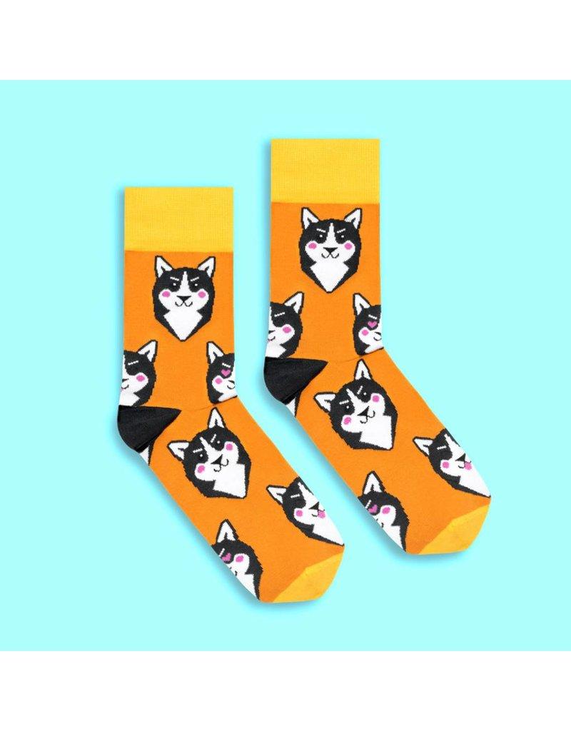Banana Socks Husky