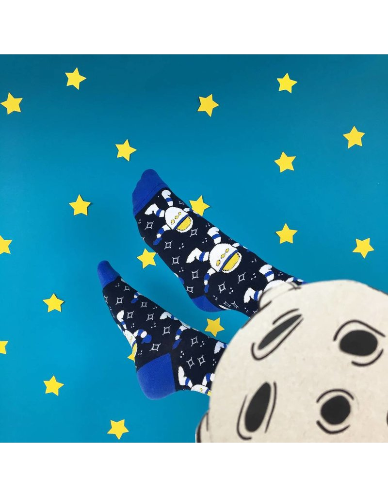 Banana Socks Space Man