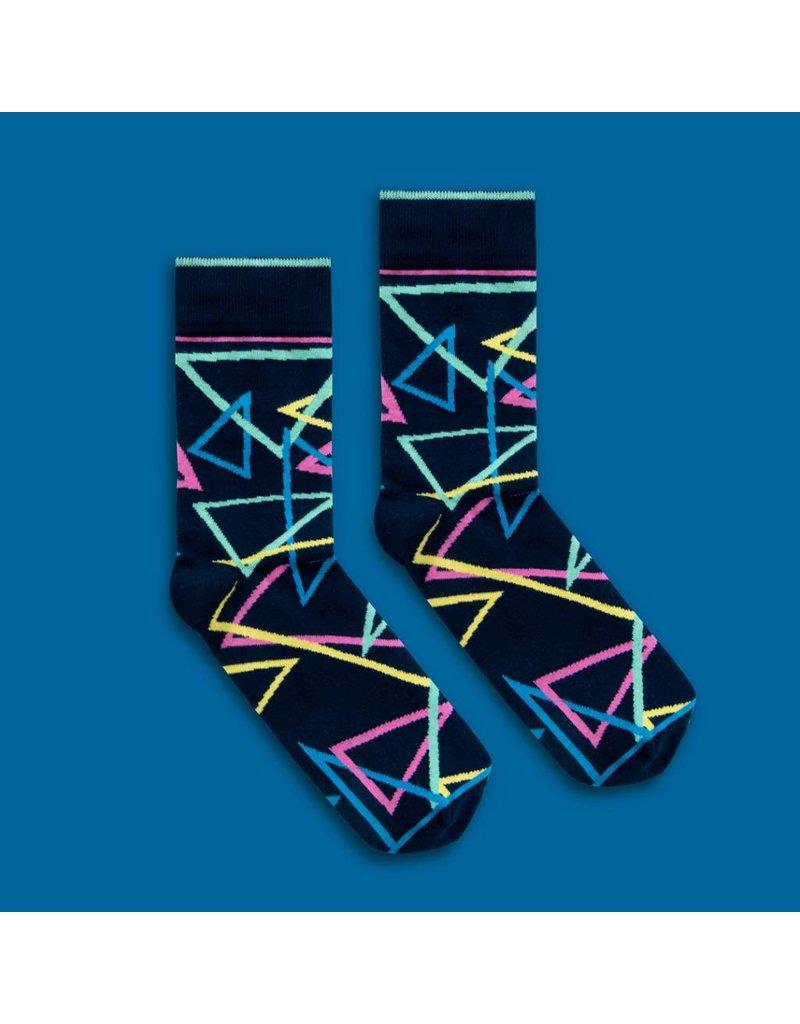 Banana Socks Mad Triangles