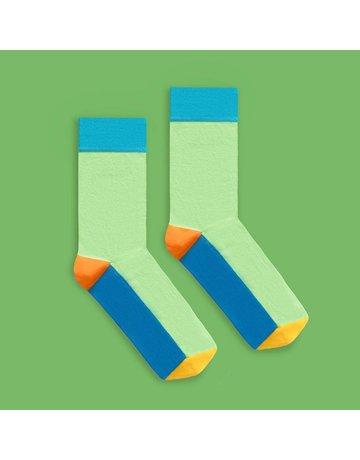 Banana Socks Bold Green