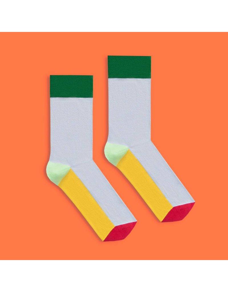 Banana Socks Bold Grey