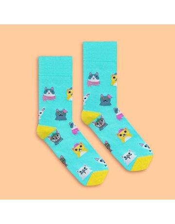 Banana Socks Cat Lover