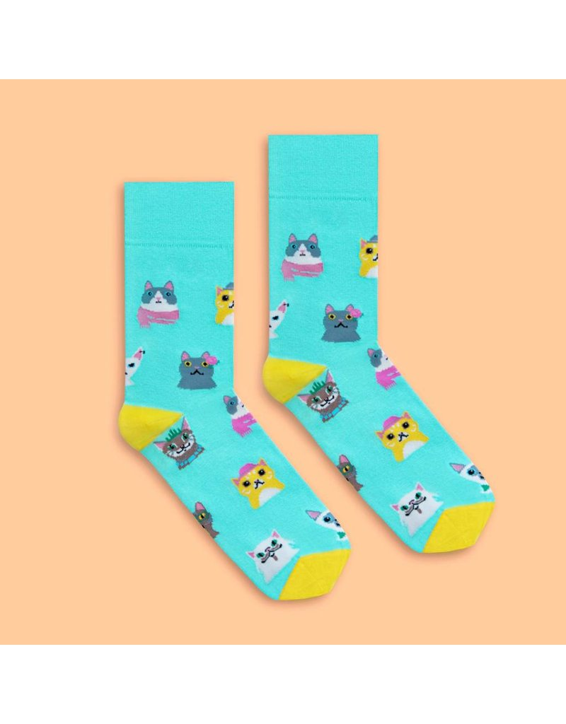 Banana Socks Cat Lover