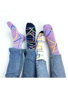 """Banana Socks """"Abstract Color"""" set"""