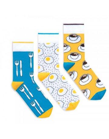 Banana Socks ''Breakfast'' set