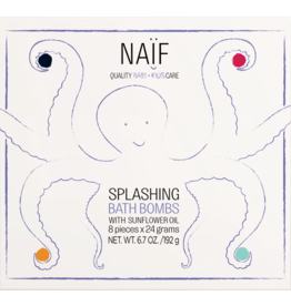 Naïf Splashing Bath Bombs Baby+Kidscare