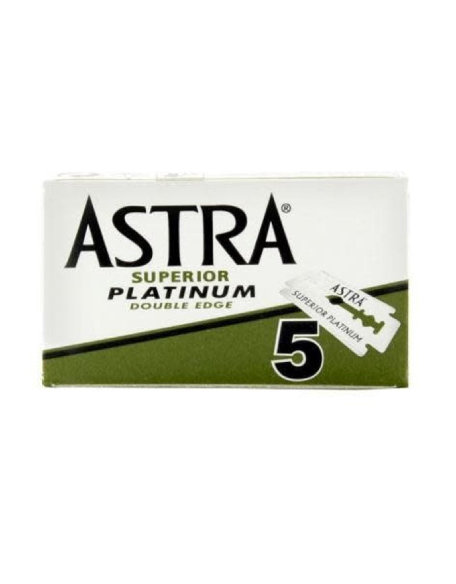 Astra Bambaw/Astra Platinum blades double edge 5 mesjes