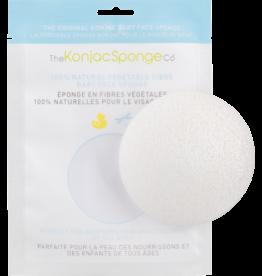 The Konjac Sponge Company Konjac Sponge Baby Face Sponge White Round