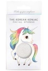 The Konjac Sponge Company Konjac Sponge Mythical Unicorn Prancing Box and Hook White