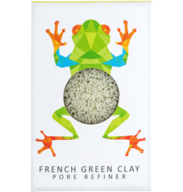 The Konjac Sponge Company Konjac Sponge Rainforest Tree Frog Mini Green Sponge