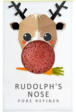 The Konjac Sponge Company Konjac Sponge Rudolph Pure Mini Face Puff with Red French Clay
