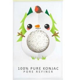 The Konjac Sponge Company Konjac Sponge Snowman Pure Mini Face Puff