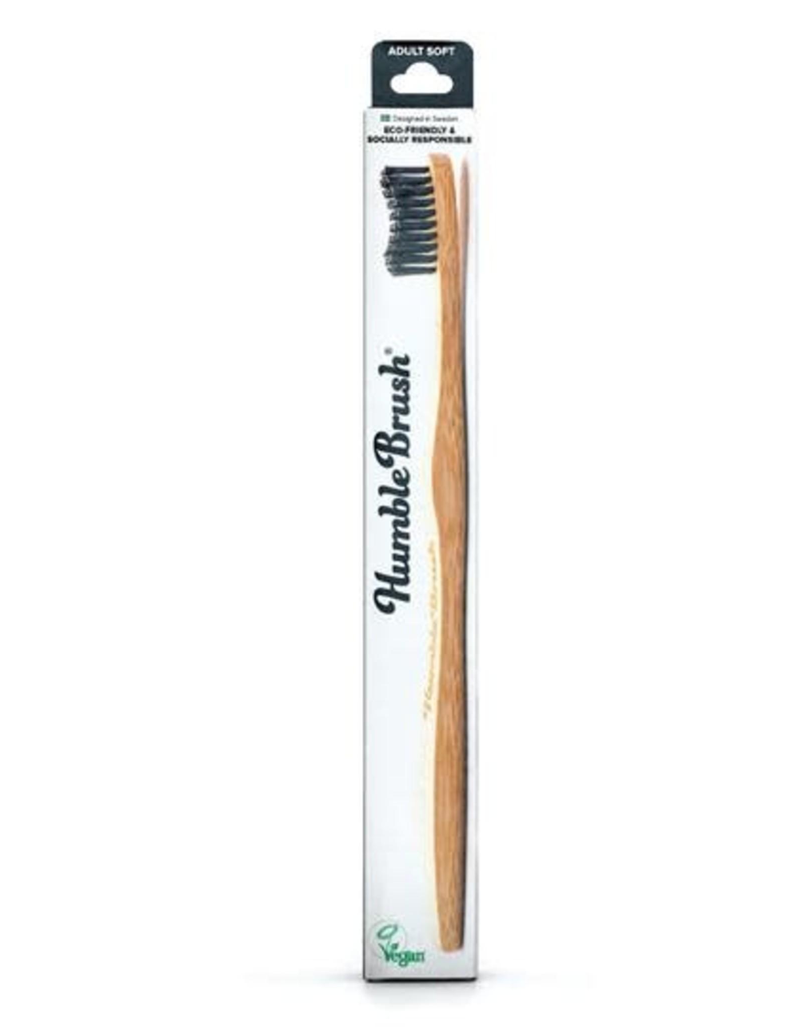 The Humble Co. Humble Brush Toothbrush Black Ultra Soft