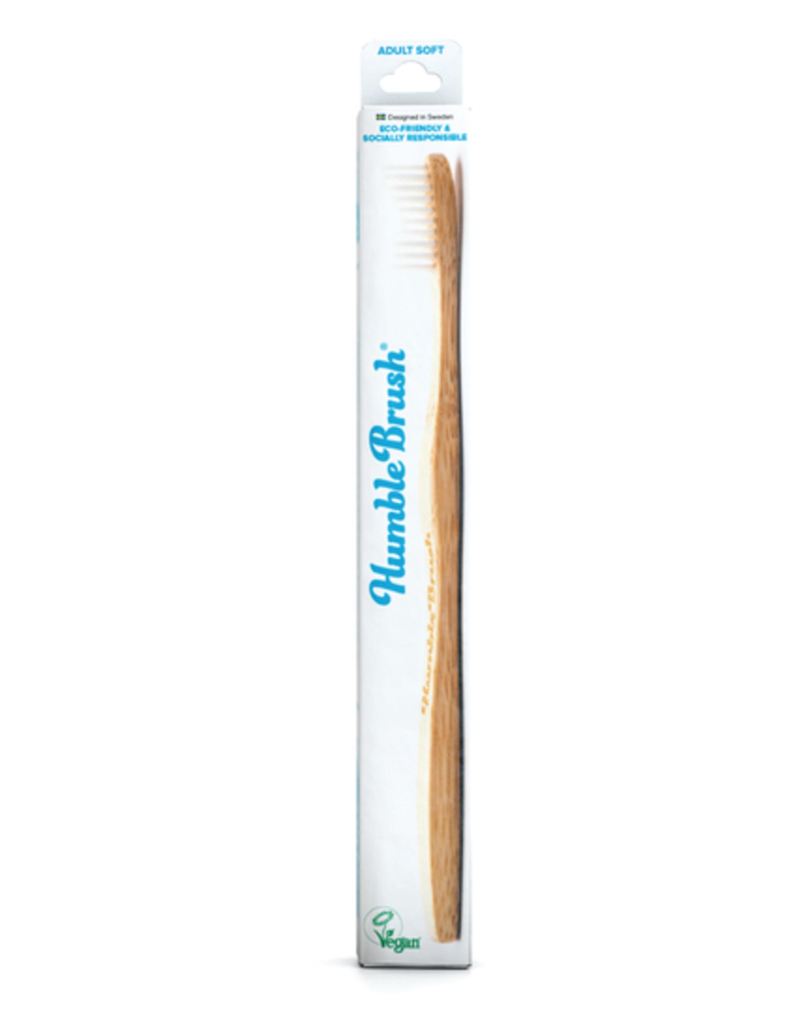 The Humble Co. Humble Brush Toothbrush White Ultra Soft