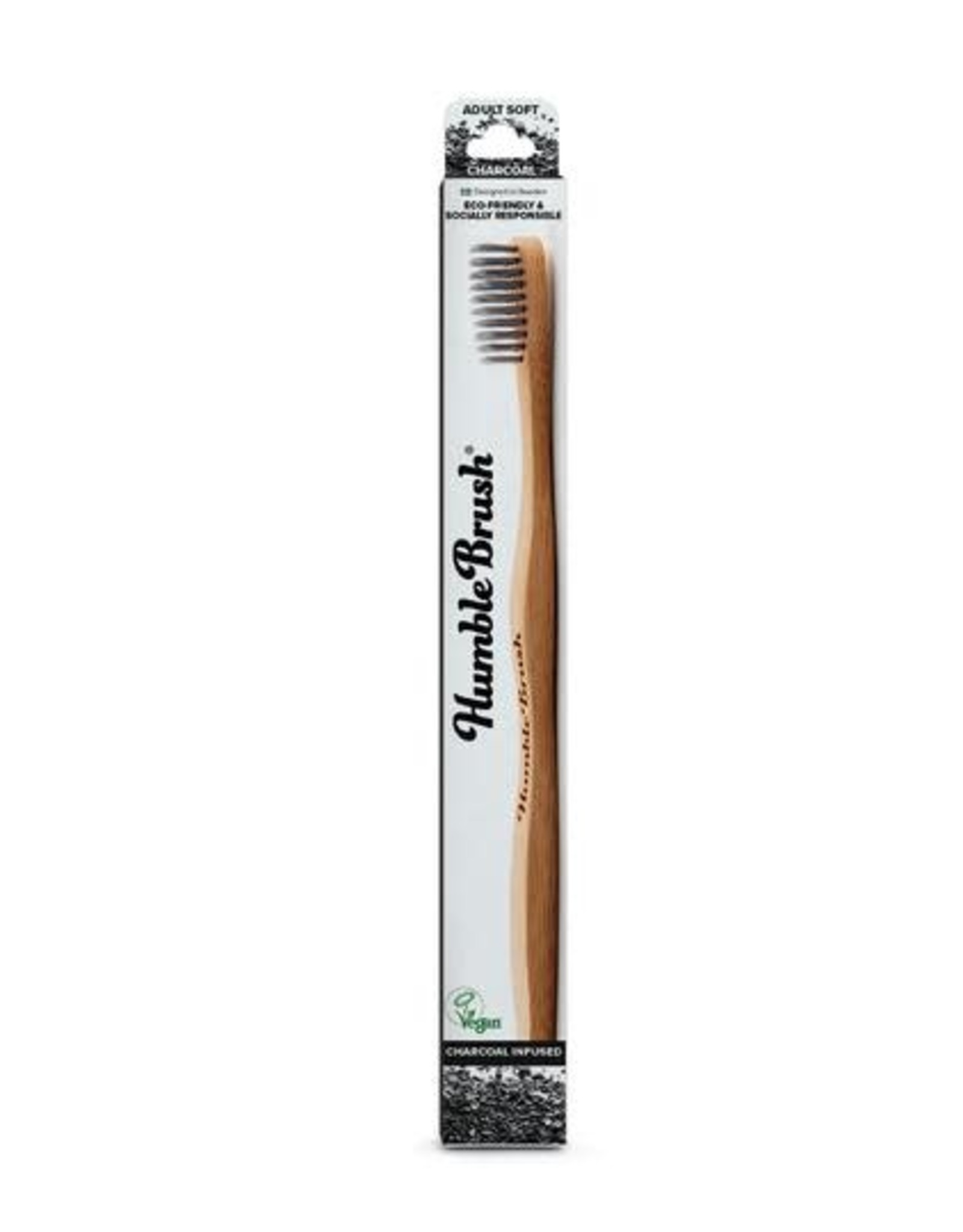 The Humble Co. Humble Brush Toothbrush Charcoal Infused Ultra Soft