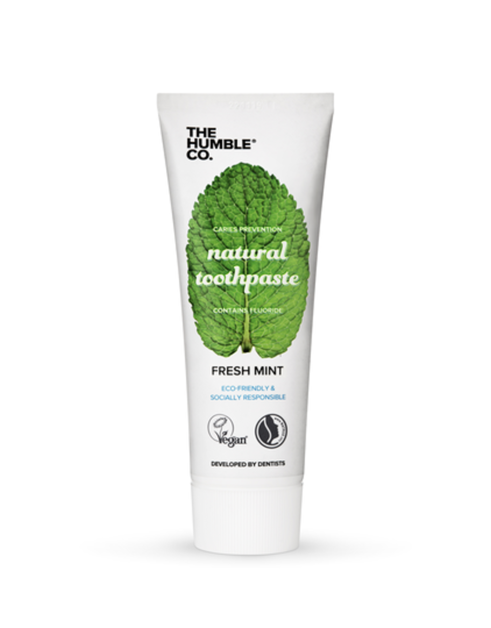 The Humble Co. Humble Natural Toothpaste Mint with Fluoride 75ml