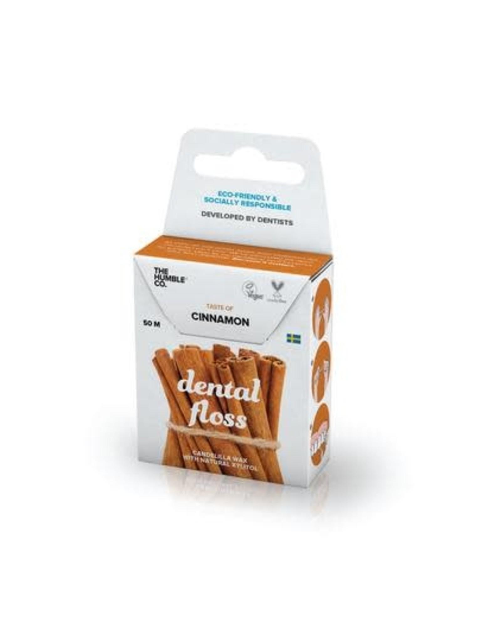 The Humble Co. Humble Natural Dental Floss Cinnamon 50m