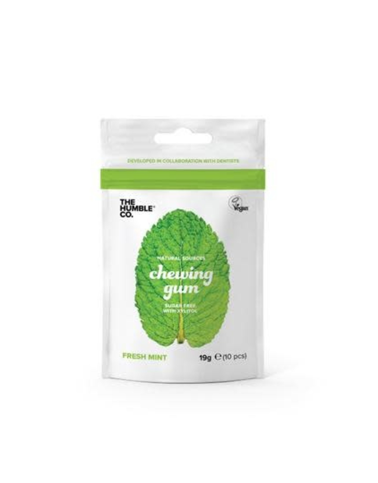 The Humble Co. Humble Chewing Gum sugar free Fresh Mint 19g