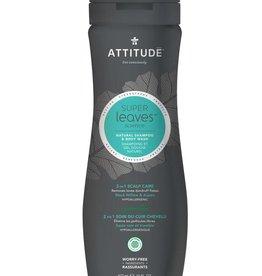 Attitude Super Leaves Natural Shampoo & Body Wash 2 in 1 Scalp Care 473ml
