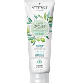 Attitude Super Leaves Natural Body Cream Nourishing 240ml