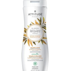 Attitude Super Leaves Natural Shampoo Volume & Shine 475ml