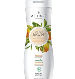 Attitude Super Leaves Natural Body Wash Energising 473ml
