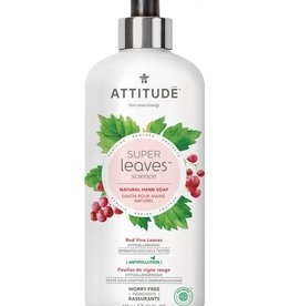 Attitude Super Leaves Natural Hand Soap Red Vine Leaves 473ml