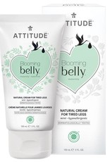 Attitude Blooming Belly Natural Cream for Tired Legs 75ml