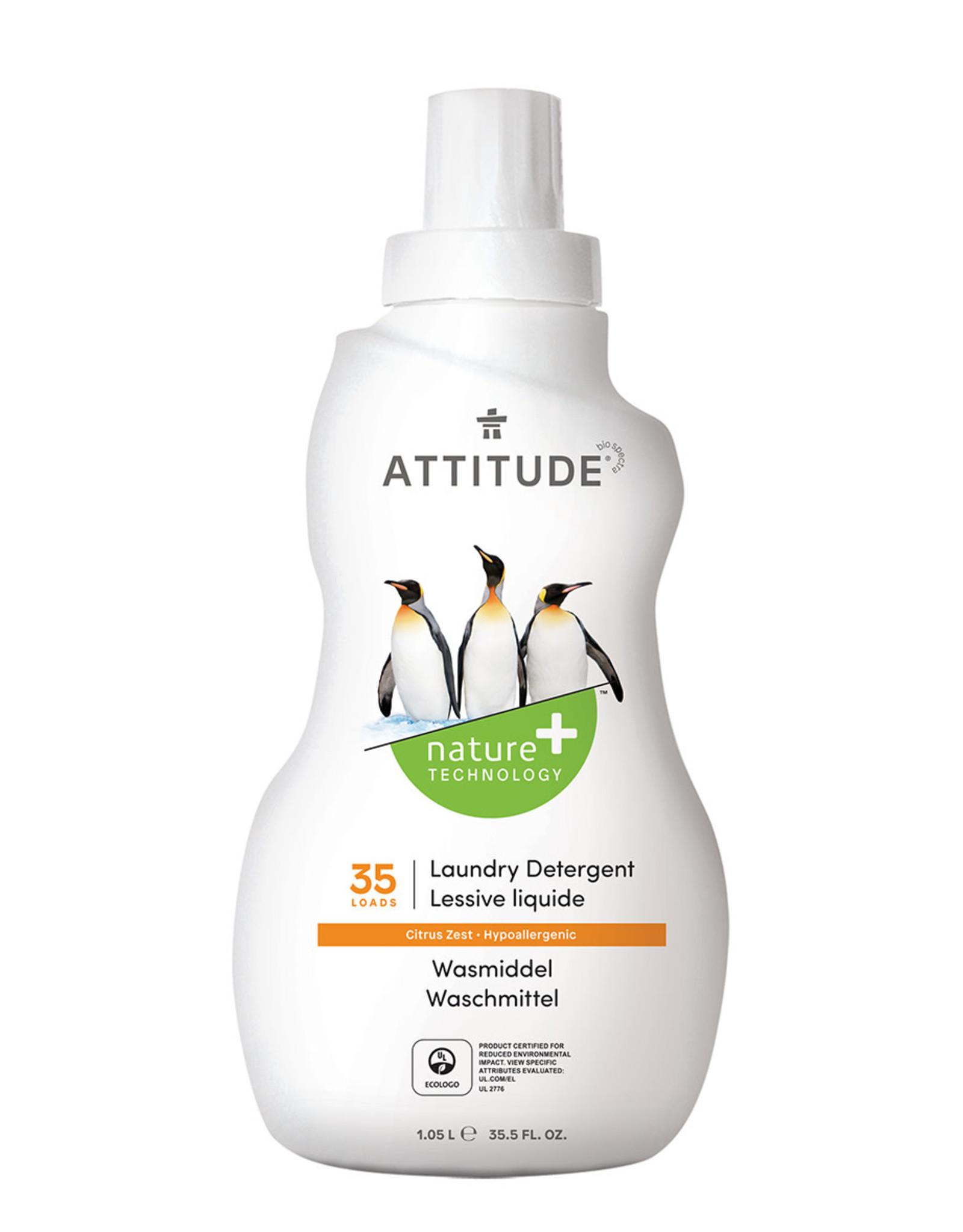 Attitude Attitude Wasmiddel Citrus Zest 1.05l
